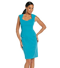 Sangria® Peplum Sheath Dress