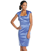 Sangria™ Satin Shutter Dress