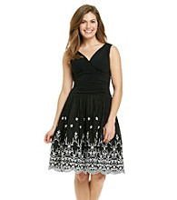S.L. Fashions Petites' Embriodered Party Dress