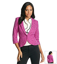 AGB® All Over Lace Jacket