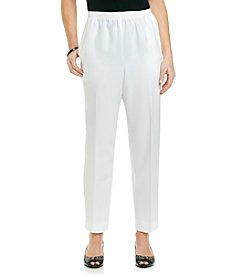 Alfred Dunner® Stretch Waistband Pull On Pants