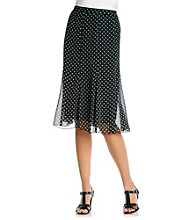 Notations® Pull On Print Skirt
