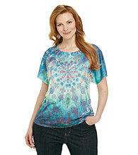 Breckenridge® Plus Size Short Sleeve Sublimation Tee
