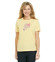 Breckenridge® Short Sleeve Embellished Graphic Tee