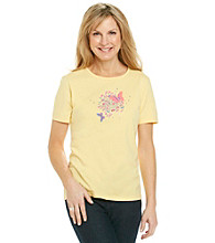 Breckenridge® Petites' Short Sleeve Sublimation Tee