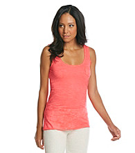 Marc New York Andrew Marc® Performance Burnout Tank With Chest Pocket