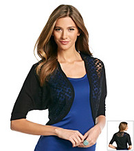 August Silk® Lace Shrug