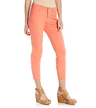 Nine West Vintage America Collection® Petites' Matchstick Ankle Stretch Twill Pant