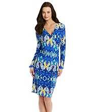 Jones New York Signature® Petites' V-Neck Dress