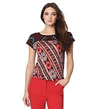 Jones New York Sport® Petites' Scoopneck Top