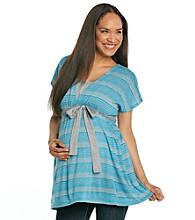 Three Seasons Maternity™ Stripe Nursing Top