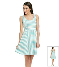 Jessica Simpson Sharane Striped Tank Dress