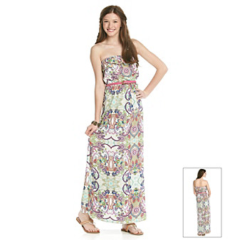 Trixxi Juniors' Paisley Print Maxi Dress Women's - Maxi Dress Gallery