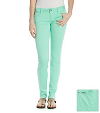 Celebrity Pink Juniors' Stretch Sateen Skinny Jeans