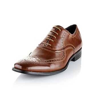 "Unlisted® Men's ""Trick Start"" Dress Shoe - Cognac"