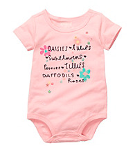 OshKosh B'Gosh® Baby Girls' Pink Floral Graphic Bodysuit