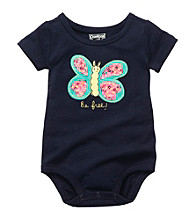 OshKosh B'Gosh® Baby Girls' Navy Butterfly Bodysuit