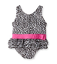 Carter's® Baby Girls' Brown/White Cheetah Print Swimsuit