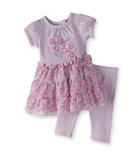 Vitamins Baby® Baby Girls' Lilac 2-pc. Floral Dress Set