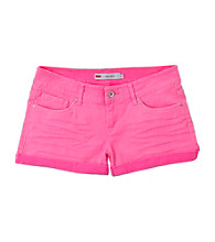 Levi's® Girls' 4-6X Pink Carolina Cuffed Shorty Shorts