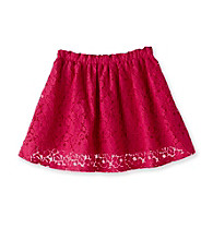Eyeshadow® Girls' 7-16 Flower Lace Skirt