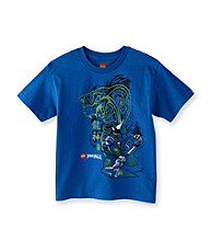 LEGO® Boys' 8-20 Royal Blue Short Sleeve Ninjago Tee