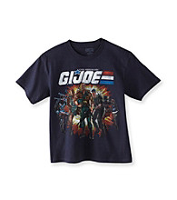 G.I. Joe Boys' 8-20 Navy Blue Short Sleeve Character Tee