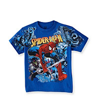 Spider-Man® Boys' 8-20 Royal Blue Short Sleeve Action Tee