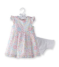 Cuddle Bear® Baby Girls' Multi Floral Print Dress Set