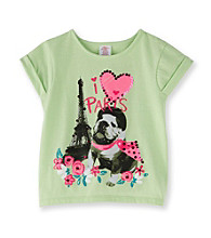 Little Miss Attitude Girls' 2T-6X Lime Pop