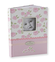 Cuddle Bear® Girls' Pink Rose Memory Book