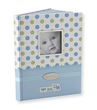 Cuddle Bear® Boys' Blue Dot Memory Book