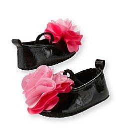 Cuddle Bear® Baby Girls' Black Prewalker Ballet Flat