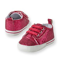 Cuddle Bear® Baby Girls' Pink Sparkle Prewalker Sneaker