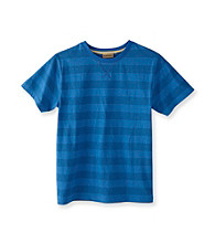 Ruff Hewn Boys' 8-20 Short Sleeve Striped Crew Tee