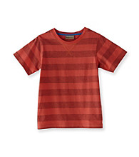 Ruff Hewn Boys' 2T-7 Short Sleeve Striped Crew Tee