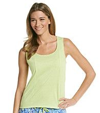 Jockey® Knit Shaped Tank - Kiwi Green