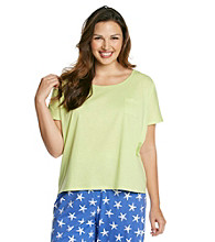 Jockey® Plus Size Knit Top - Kiwi Green
