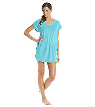 HUE® Baby Terry Knit Tunic - Beach Blue
