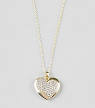 Designs by FMC Gold-Over-Sterling Silver Heart Pendant