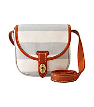 Fossil® Grey Austin Stripe Small Flap