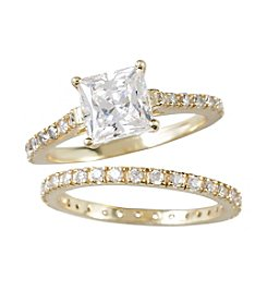 Designs by FMC Zirconia Ice made with Swarovski® Zirconia Sterling Silver Ring