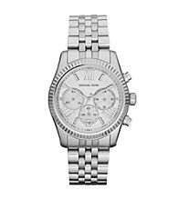 Michael Kors® Women's Silvertone Lexington Watch