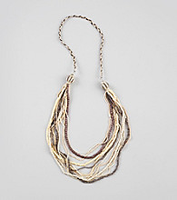 Erica Lyons® Neutral Multi Sahara Long Necklace