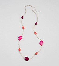 Erica Lyons® Multi Shockwave Long Necklace