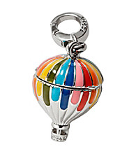 Fossil® Silvertone Hot Air Ballon Charm