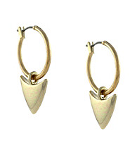 BCBGeneration™ Beatrix Kiddo Goldtone Arrow Earrings