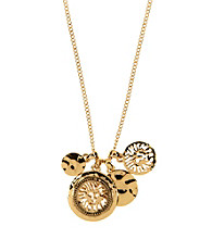 Anne Klein® Goldtone Shaky Pendant Necklace