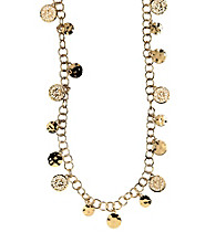 Anne Klein® Goldtone Lone Shaky Necklace