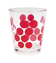 Zak Designs® Dot Dot Set of 6 Double Old Fashion Tumblers